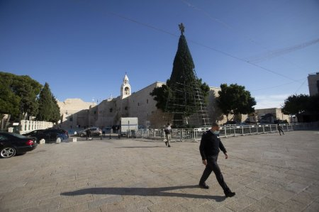 Coronavirus Plague Robs Biblical Bethlehem of Christmas Cheer