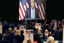 Republican convention showcases rising stars, dark warnings