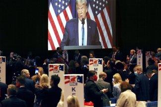 Republican convention showcases rising stars, dark warnings