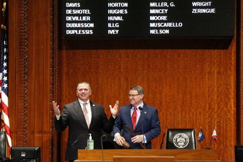 Louisiana opens legislative session amid coronavirus concern