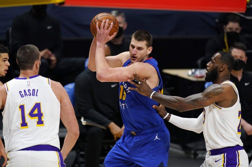 Αποτέλεσμα εικόνας για Denver Nuggets - Los Angeles Lakers 122-105