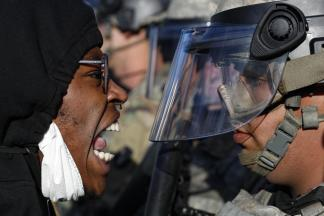Covid-19 shut everything down but racism; National guard called in