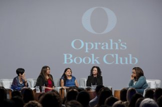 """Oprah turns the tables and places forum on book """"American Dirt"""" into a debate about the marginalization of Latino voices, lack of diversity in publishing, and the question of who's best suited to tell a story"""