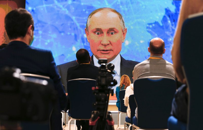 Putin denies involvement in poisoning of Kremlin foe Navalny