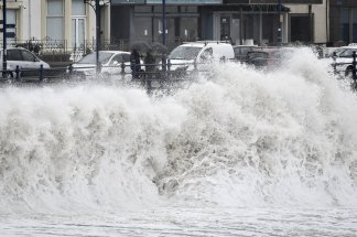 Body found in rough seas as UK faces another fierce storm