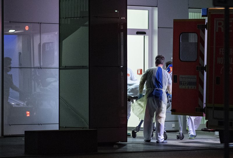 Germany in warning over a virus epidemic