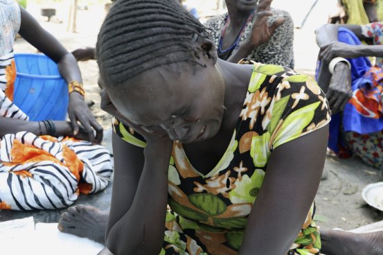 Thousands in South Sudan close to famine