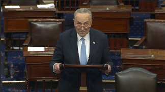 """Chuck Schumer says he """"should not have used the words I used"""" in reference to the two justices for their decisions in an abortion case"""