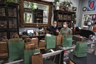 Nation's emerging legal marijuana market braces for an economic blow from the coronavirus crisis