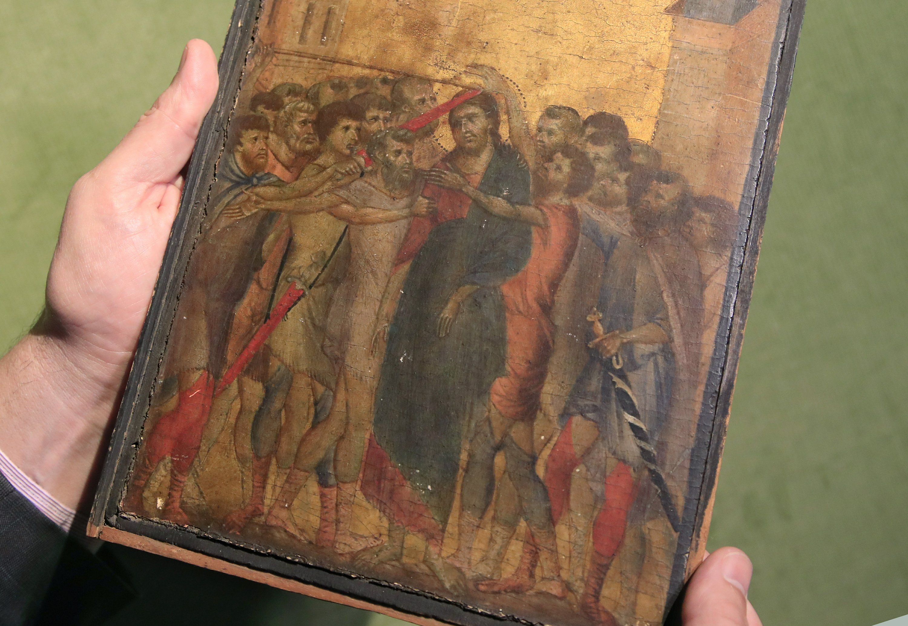 Image result for cimabue painting found