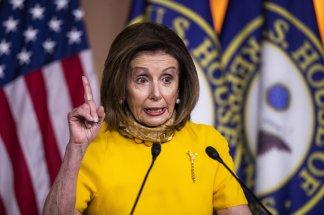 """Go big"" says Nancy Pelosi;  press ""pause"" says Mitch McConnell"