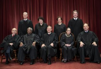 """A peek into our """"new"""" Supreme Court as the coronavirus pandemic plague has forced the tradition-bound Supreme Court into making some big changes"""