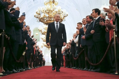 Image result for Vladimir Putin Sworn-In as Russian President for 4th term