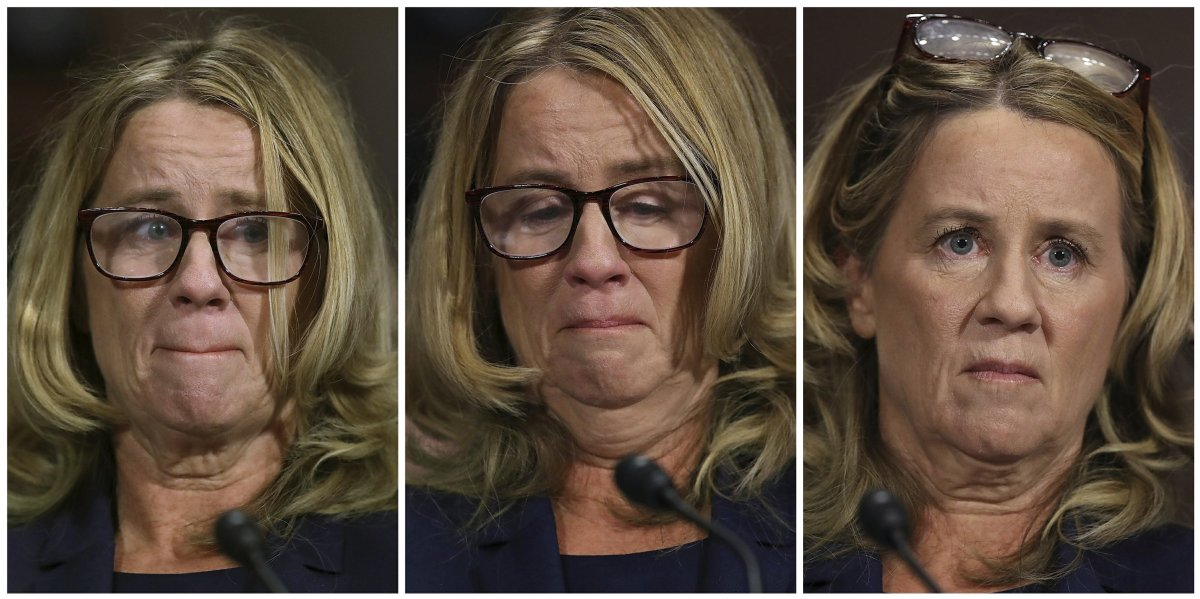 Image result for christine ford body language