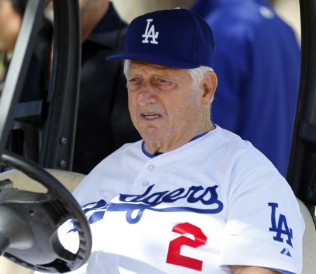 Former Dodgers Manager Tom Lasorda in Intensive Care in Orange County Hospital