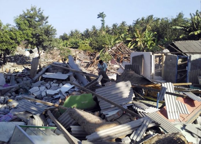 Indonesia Lombok Quakes Don T Meet National Disaster Status