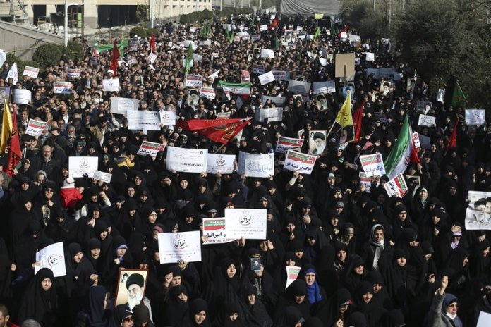 Image result for Iranian protesters