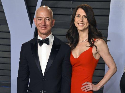 Amazon's Jeff Bezos and wife MacKenzie finalize divorce