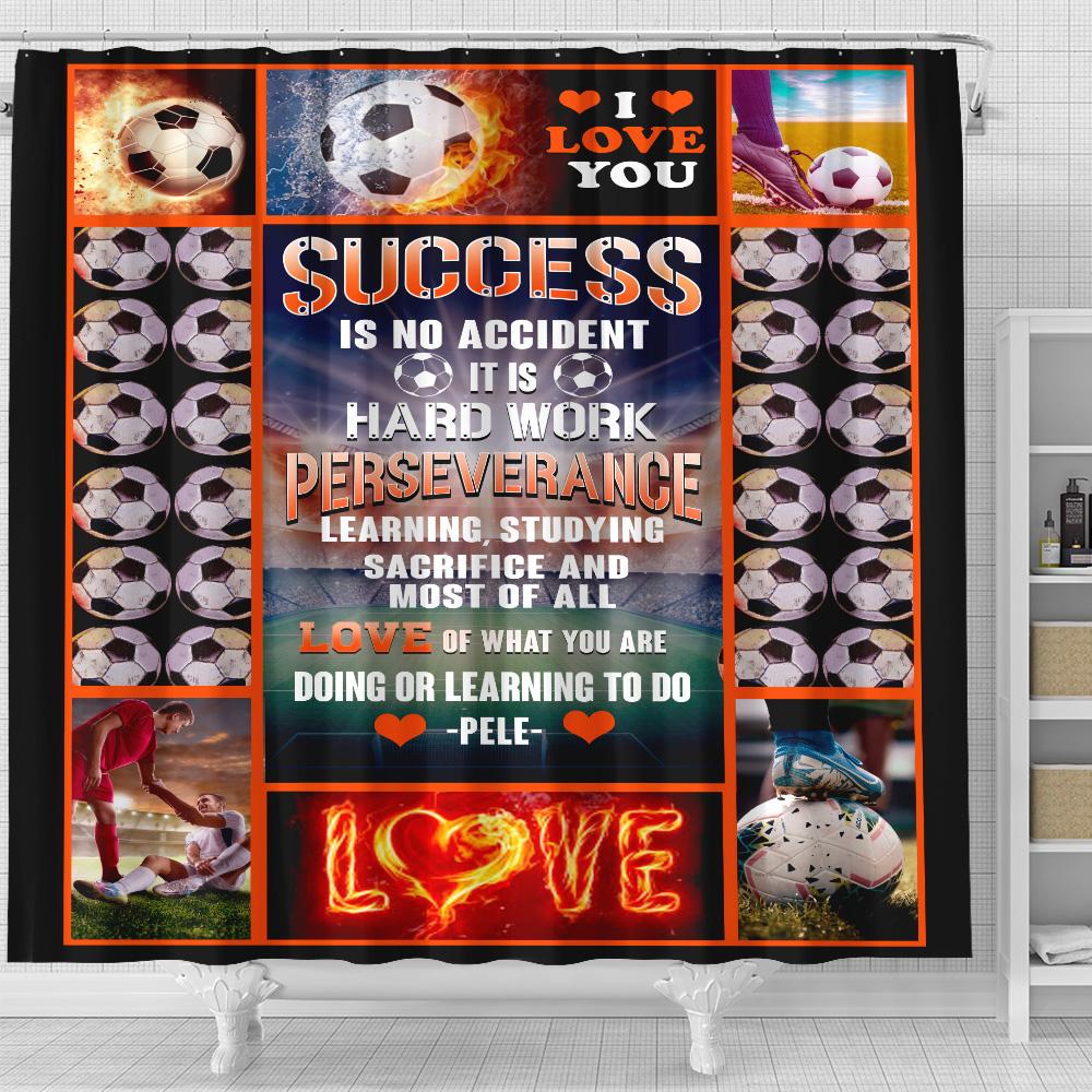 football shower curtain 90 lovehome