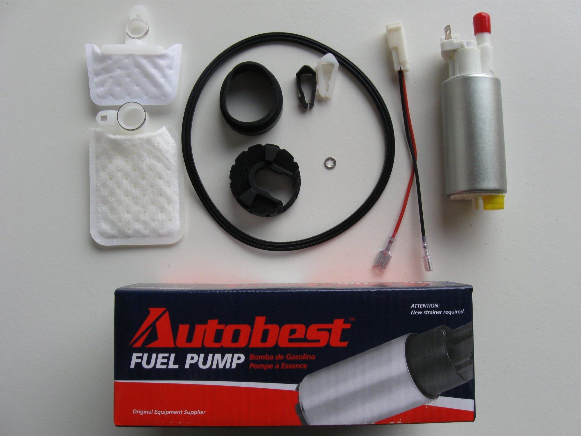 hight resolution of 2000 ford focus fuel pump and strainer set a0 f1459