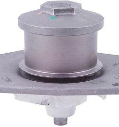 1999 chrysler 300m engine water pump a1 58 553 [ 1318 x 907 Pixel ]