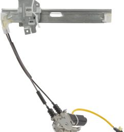 2001 kia sephia power window motor and regulator assembly a1 82 4522ar  [ 1157 x 1409 Pixel ]