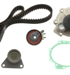2009 volvo s60 engine timing belt kit with water pump a8 tkv 001 [ 2048 x 1227 Pixel ]
