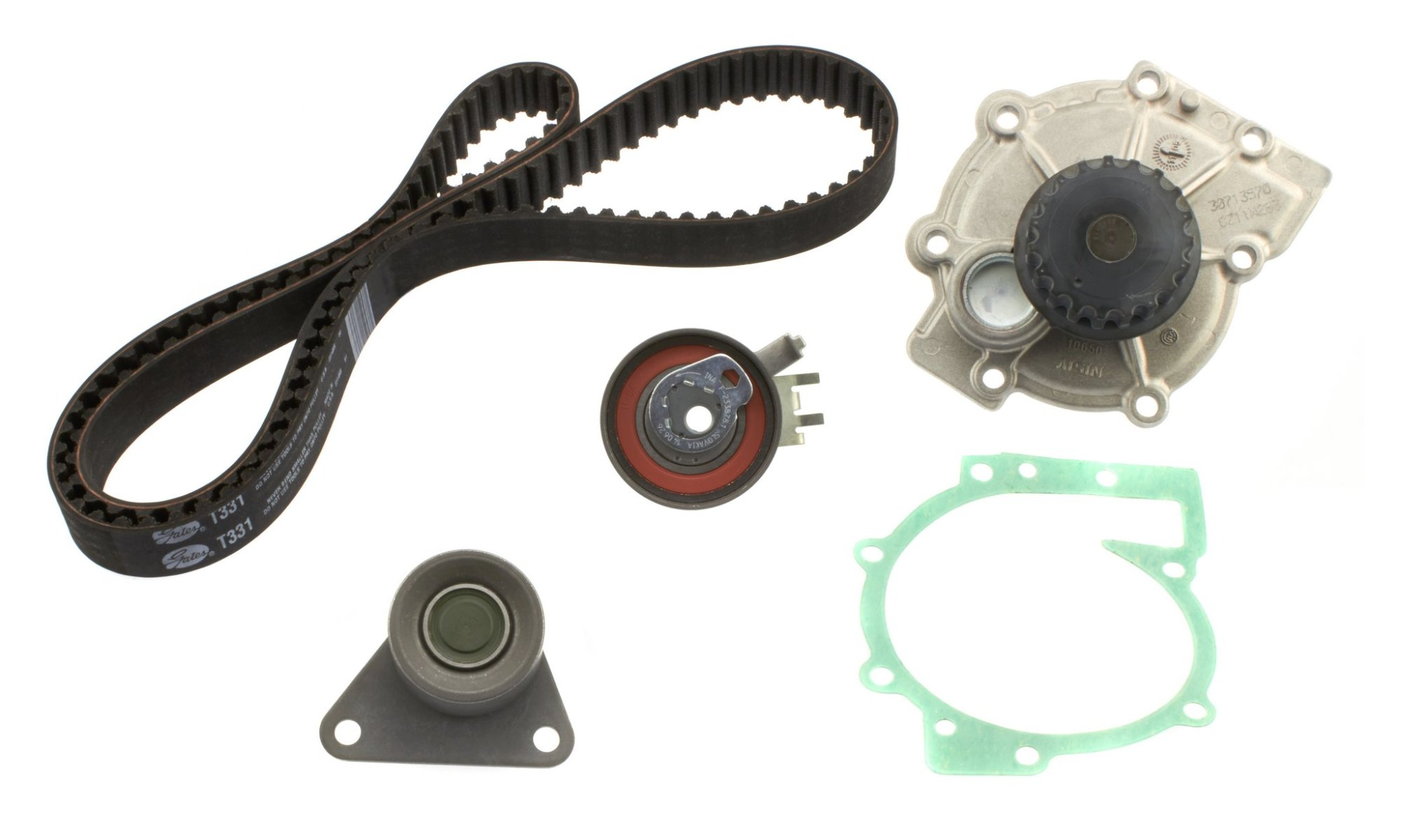 hight resolution of 2009 volvo s60 engine timing belt kit with water pump a8 tkv 001