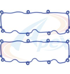 2000 ford ranger engine valve cover gasket set ag avc425 [ 1000 x 1000 Pixel ]