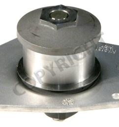 1999 chrysler 300m engine water pump aw aw7162 [ 1500 x 1024 Pixel ]