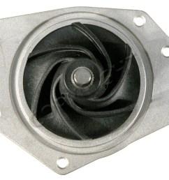 1999 chrysler 300m engine water pump aw aw7162  [ 1500 x 1232 Pixel ]