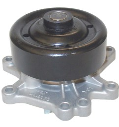 2006 toyota corolla engine water pump aw aw9376 [ 1500 x 1500 Pixel ]