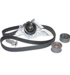 2000 volkswagen passat engine timing belt kit with water pump aw awk1325 [ 1500 x 1500 Pixel ]