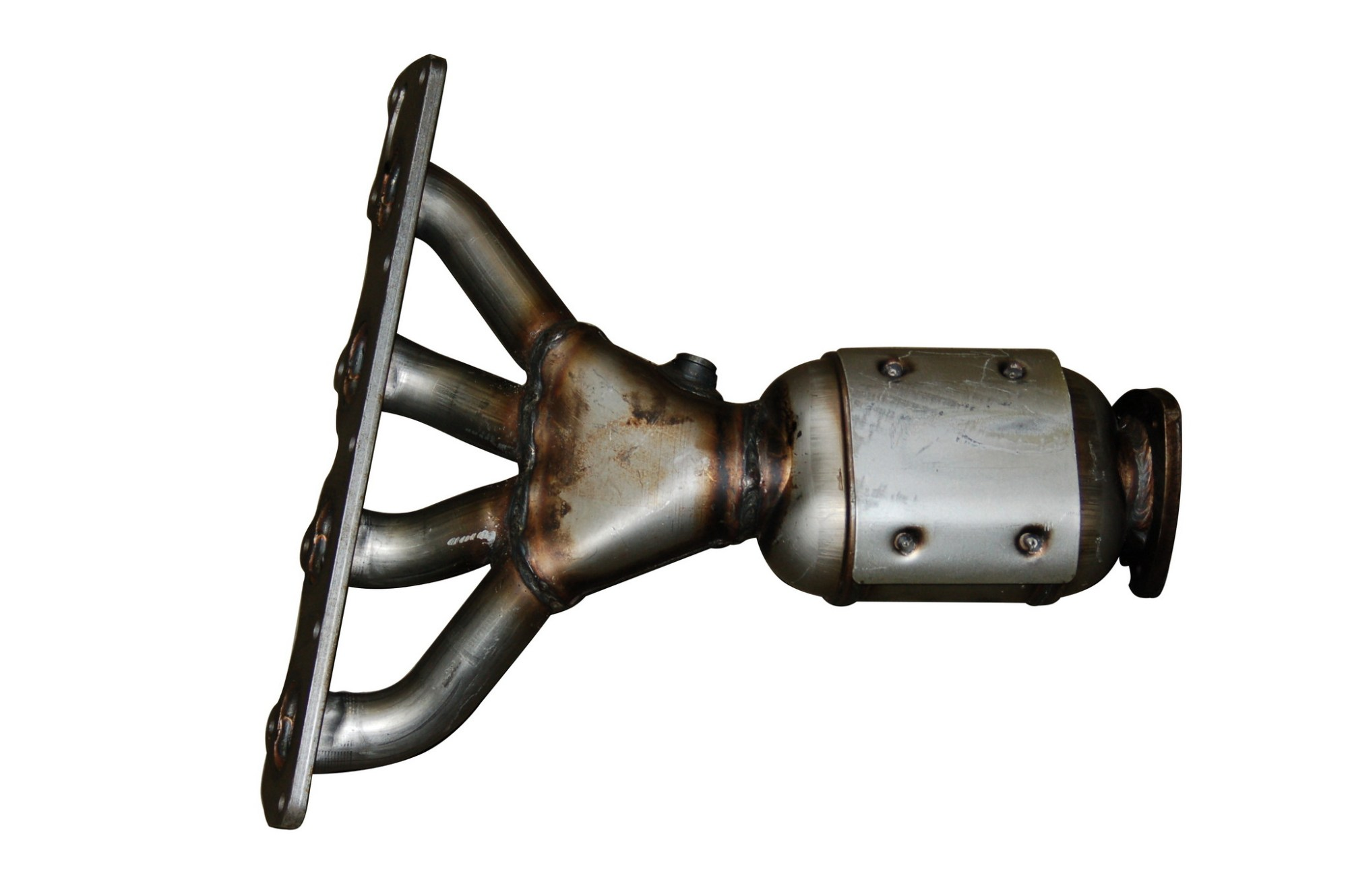 hight resolution of 2006 chevrolet malibu exhaust manifold with integrated catalytic converter bo 079 5210