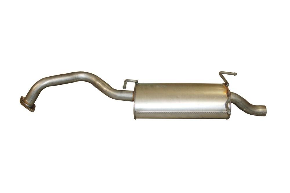 medium resolution of 2009 nissan sentra exhaust muffler assembly bo 145 783