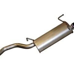 2009 nissan sentra exhaust muffler assembly bo 145 785 [ 2048 x 1362 Pixel ]