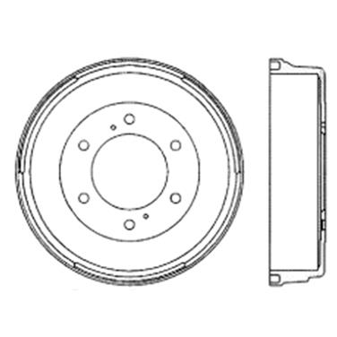 Replacement Brake Drum For 2013 Nissan NP300