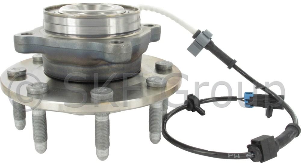 medium resolution of 2005 gmc sierra 3500 axle bearing and hub assembly cr br931000