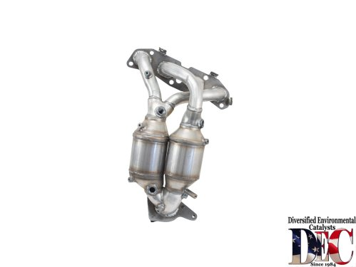 small resolution of 2009 nissan sentra exhaust manifold with integrated catalytic converter dc nis2562