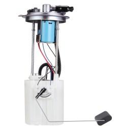 2006 hummer h3 fuel pump module assembly de fg1308 [ 1500 x 1500 Pixel ]