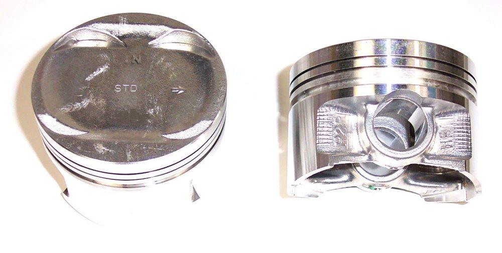 medium resolution of 1997 honda civic del sol engine piston set dj p297a