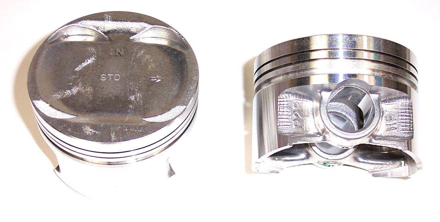 hight resolution of 1997 honda civic del sol engine piston set dj p297a