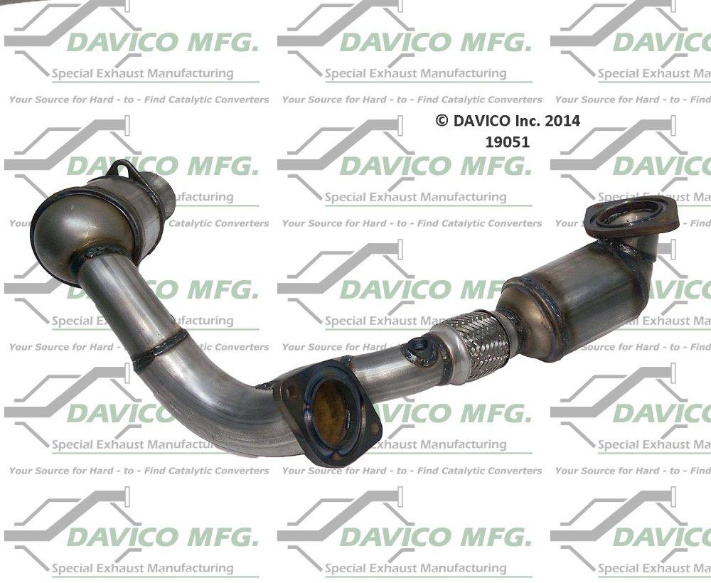 medium resolution of 2002 ford taurus catalytic converter dv 19051