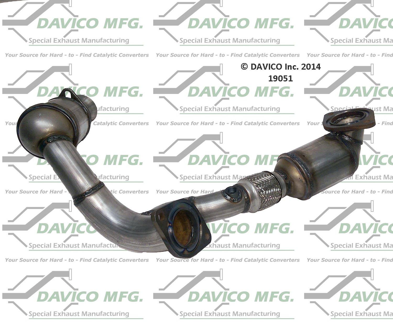 hight resolution of 2002 ford taurus catalytic converter dv 19051