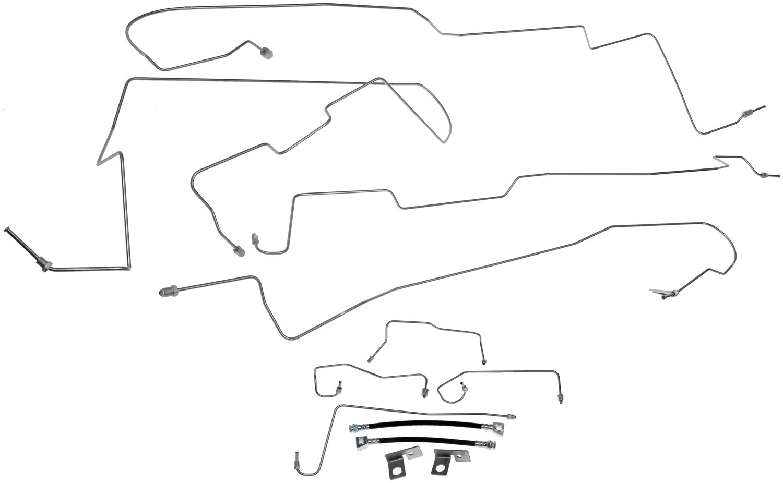 Ford F 150 Brake Hydraulic Line Kit