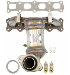 2012 jeep patriot exhaust manifold with integrated catalytic converter autopartskart com [ 1500 x 1500 Pixel ]