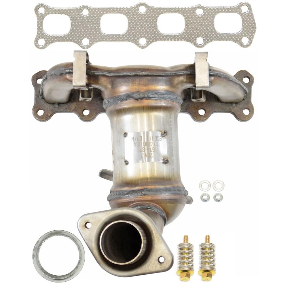 medium resolution of 2012 jeep patriot exhaust manifold with integrated catalytic converter autopartskart com