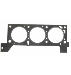 1994 chrysler town country engine cylinder head gasket fp 9535 pt [ 1500 x 1500 Pixel ]