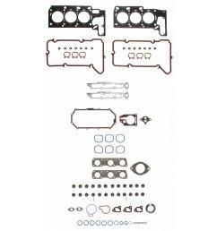 2001 oldsmobile aurora engine cylinder head gasket set fp hs 26230 pt 1 [ 1500 x 1500 Pixel ]