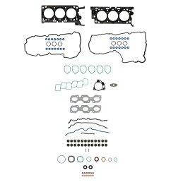 2012 ford fusion engine cylinder head gasket set fp hs 26545 pt [ 1500 x 1500 Pixel ]